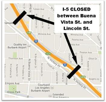 I5 closed