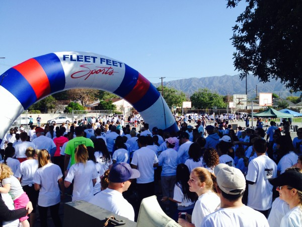 More than 400 people participated in the 5k Wilke Walk. (Photo Courtesy of Stacy Cashman)