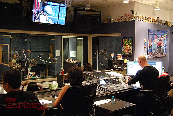 Nickelodeon's Recording Studio A. (Photo By Lisa Paredes)