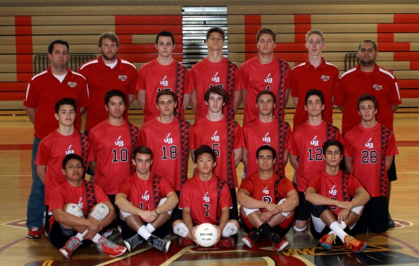 Burroughs Indians: 2014 Pacific League champions (Photo courtesy of Burroughs High School)