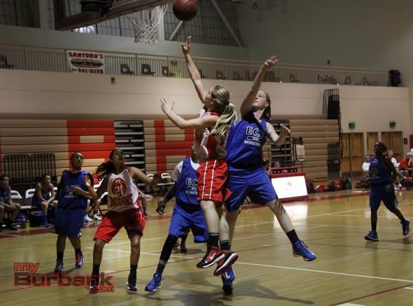 Burroughs Girls Basketball (Photo by Ross A. Benson)