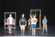 """The Mechanicals rehearse at Burbank Youth Summer Theatre Institute's """"A Midsummer Night's Dream."""" (Photo By Lisa Paredes)"""