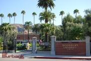 Woodbury University entrance. (Photo By Lisa Paredes)