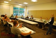 Health class at Woodbury. (Photo By Lisa Paredes)