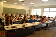 Students pay attention in PreCalculus. (Photo By Lisa Paredes)