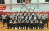 United States Men's National Basketball team (Photo by Dick Dornan)