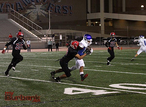 Burbank Football (Photo by Ross A. Benson)