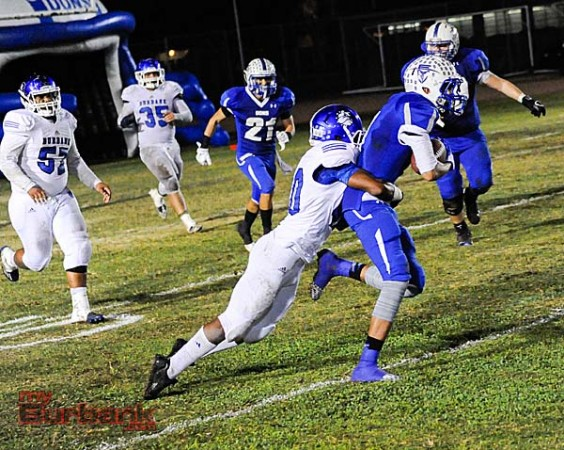 Burbank's defense corralled the Dons (Photo By Craig Sherwood)