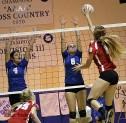 BHS vs JBHS Girls Volleyball 11-4-14 (Photo By Edward Tovmassian)