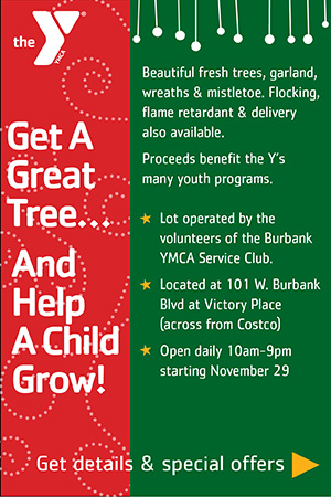 YMCA TREE LOT Dec 25