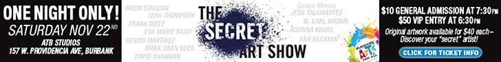 Secret Art Show Nov 22