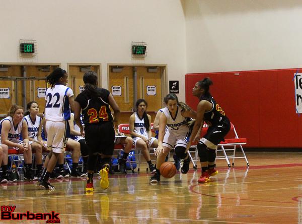 Marina Labeb dribbles against Fairfax (Photo by Ross A. Benson)