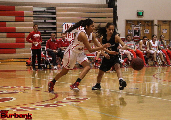 Abbey Ibarra plays with relentless energy and effort (Photo by Ross A. Benson)