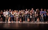 "JBHS Drama wins the 2015 CETA award for Best Ensemble for ""Flowers for Algernon."" (Photo Courtesy Kathy Flynn/Wicked Goddess Photography)"
