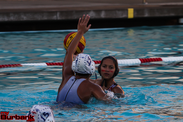 The Indians won the crosstown match, 10-5, over the Bulldogs (Photo by Ross A. Benson)