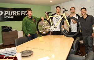 Founders and President (left to right) - Andy Abowitz, Austin Stoffers, Jordan Schau and Michael Fishman  (Photo by Ross A. Benson)