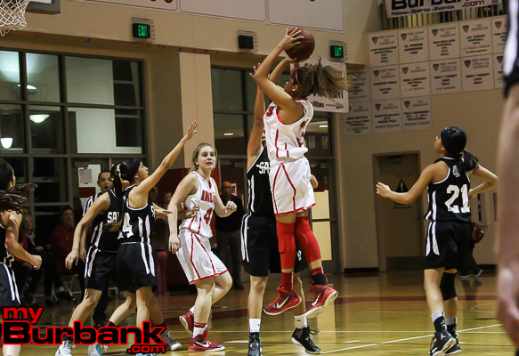 Sienna Brown played a pivotal role for the Lady Indians (Photo by Ross A. Benson)