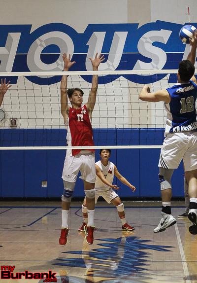 Chamberlain, a true middle blocker, has evolved into a dominant threat as an outside hitter (Photo by Ross A. Benson)