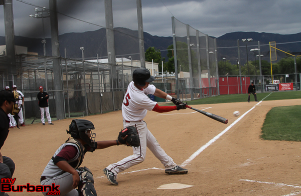 Roy Hirota smashed a two-run double (Photo by Ross A. Benson)