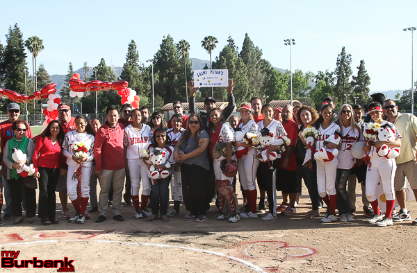 Senior Night for the Burroughs Indians (Photo by Ross A. Benson)