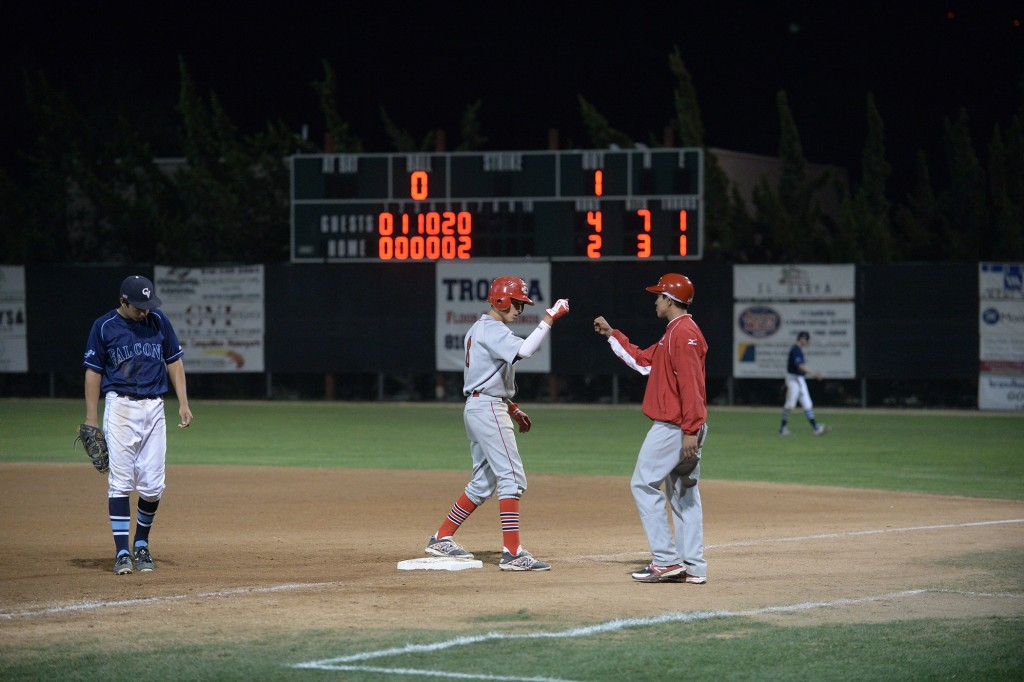 Ryan Galan had two hits on the evening (Photo courtesy of Mitch Haddad)