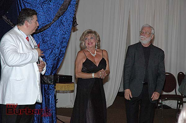 Magic Castle magicians, from left, Robert DeLa Guerra, Malena Tappan and Gerald Schiller.