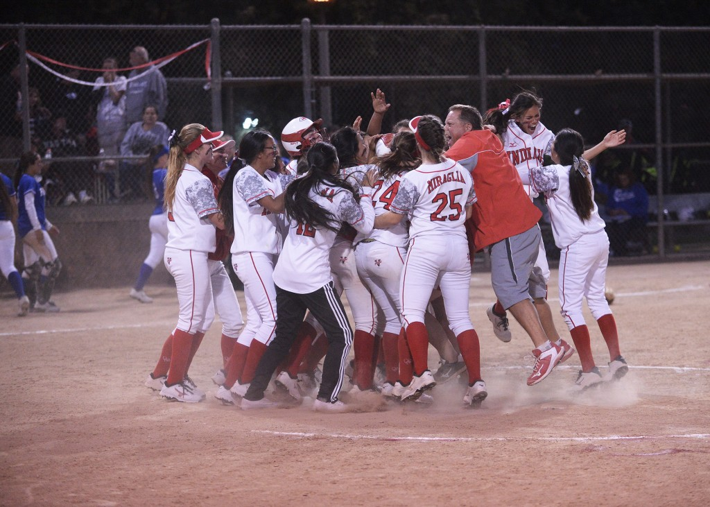Burroughs shared the league title; its fourth in six years (Photo courtesy of Mitch Haddad)