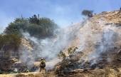 Bel Aire Ballfield Brush Fire 3