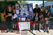 Students raise money for the Make A Wish Foundation at Luther Burbank Middle School on Friday during the Luther Beach Party. Photo By: Edward Tovmassian