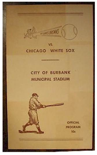 st louis browns program