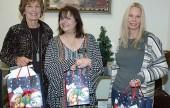 Gordon R. Howard Museum docents are, from left, Brenda Elliott, Susan Hodgson and Kimberly Hendrix.