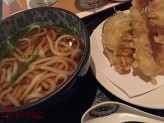 Udon with Vegetable Tempura. (Photo By Lisa Paredes)