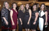 Charity League president-elect Shaunna Larson Raab, from left, with Kim Kaufman, Ruth Martinez-Baenen, Olivia Boyce, Char Tabet and Gema Sanchez. (Photos by Joyce Rudolph)