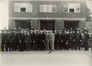 old city hall police and fire depts 1930's