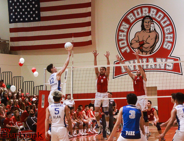 JBHS vs BHS Boys Volleyball 4-1-16