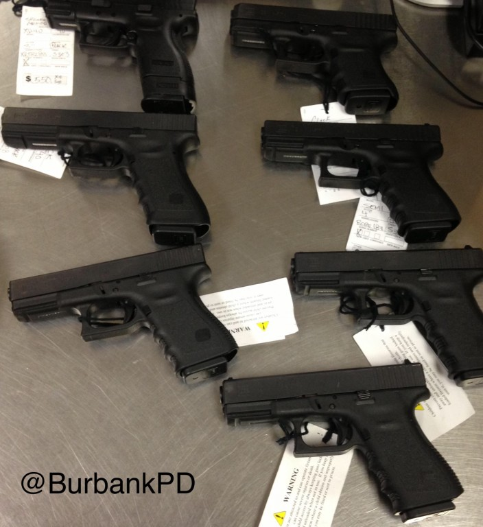 Photo courtesy Burbank Police Department