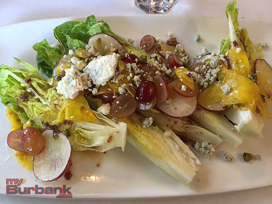Little Gem Salad, Los Olivos Cafe. (Photo By Lisa Paredes)