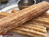 Churros at Descanso Gardens' Maple. (Photo By Lisa Paredes)