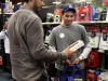 LA Dodger Andre Ethier helps kids go on shopping spree at Burbank Best Buy -5