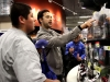LA Dodger Andre Ethier helps kids go on shopping spree at Burbank Best Buy -6