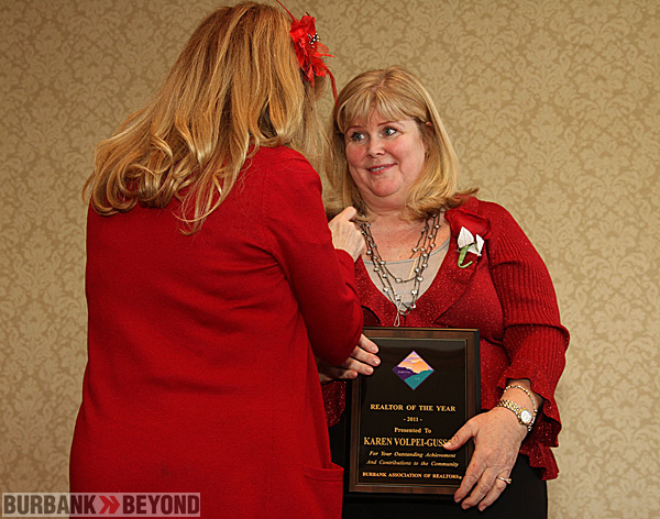 Board of Realtors  Realtor of the year getting pinned-2