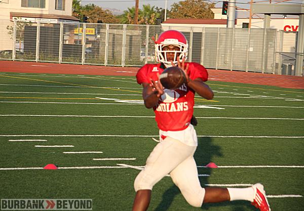 Burroughs High Preseason Football 1