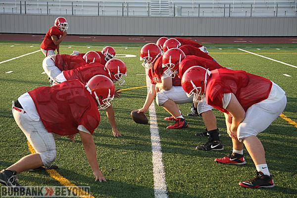 Burroughs High Preseason Football 2