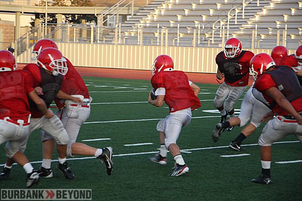 Burroughs High Preseason Football 7