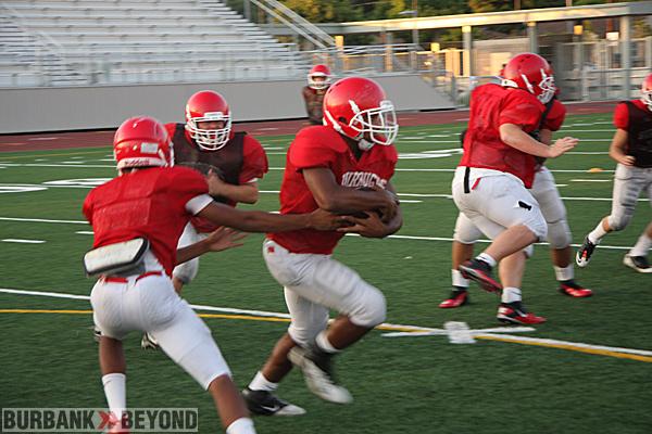 Burroughs High Preseason Football 10