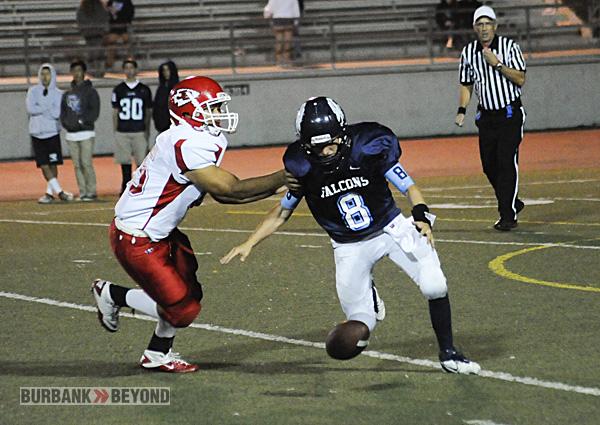 Burroughs Football vs. Crescenta Valley 2012-3406
