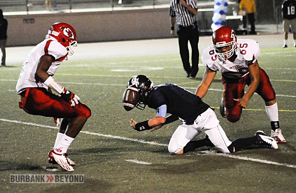 Burroughs Football vs. Crescenta Valley 2012-3411