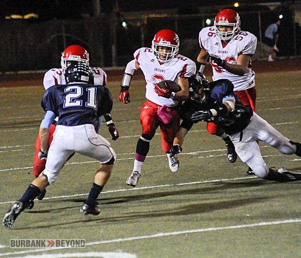 Burroughs Football vs. Crescenta Valley 2012-3419