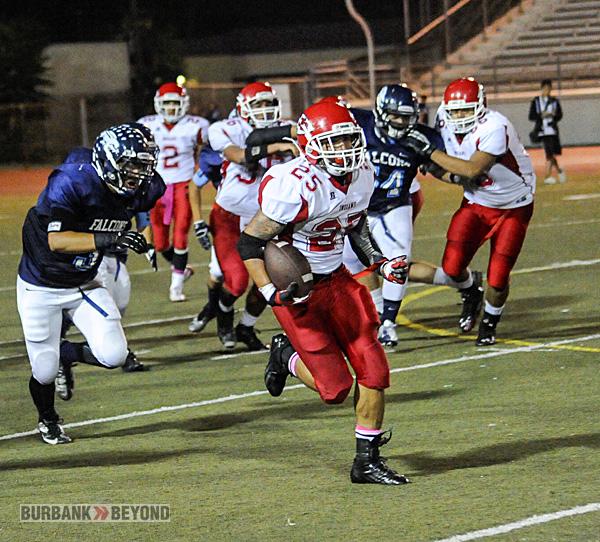 Burroughs Football vs. Crescenta Valley 2012-3429