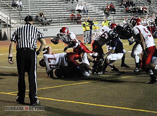 Burroughs Football vs. Crescenta Valley 2012-3451